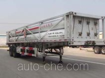 Huanli HLZ9350GGY high pressure gas long cylinders transport trailer