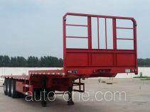 欣意通牌HMJ9400TPBE型平板运输半挂车