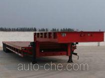 欣意通牌HMJ9401TDP型低平板半挂车