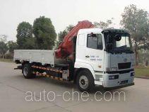 华菱之星牌HN5160JSQ0L4型随车起重运输车