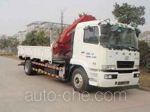 华菱之星牌HN5160JSQ1L4型随车起重运输车