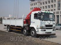 华菱之星牌HN5250JSQ1L4型随车起重运输车