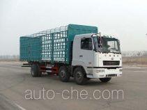 华菱之星牌HN5250P26E8M3CCQ型畜禽运输车