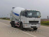 湖南牌HN5250P34C6MGJB型混凝土搅拌运输车