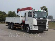 华菱之星牌HN5251JSQ1L4型随车起重运输车