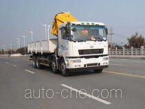 华菱之星牌HN5310JSQ0L4型随车起重运输车