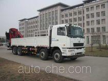 华菱之星牌HN5310JSQ1L4型随车起重运输车
