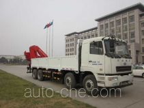 华菱之星牌HN5310JSQ3L4型随车起重运输车