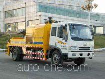 海诺牌HNJ5141THB4型车载式混凝土泵车