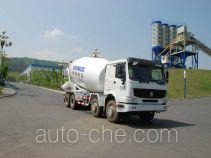 海诺牌HNJ5310GJBA型混凝土搅拌运输车