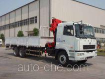 CAMC Hunan HNX5250JSQ truck mounted loader crane