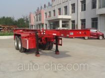 Huihuang Pengda HPD9350TJZ container transport trailer