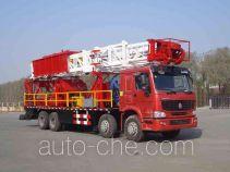 Yuehu HPM5310TXJ90Z well-workover rig truck