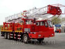 Yuehu HPM5321TXJ90Z well-workover rig truck