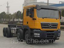 CHTC Chufeng HQG3313GD4J dump truck chassis