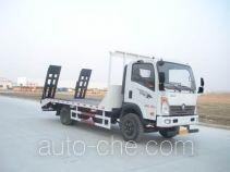 楚风牌HQG5085TPB4CD型平板运输车