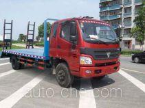 楚风牌HQG5145TPBFA型平板运输车