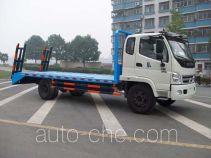 楚风牌HQG5150TPB3型平板运输车