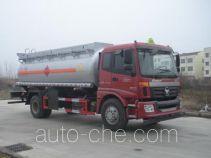 楚风牌HQG5160GRY4BJ型易燃液体罐式运输车