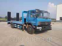 楚风牌HQG5160TPBEQ5型平板运输车