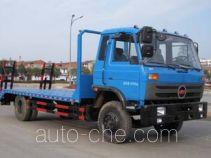 楚风牌HQG5160TPBGD4型平板运输车