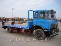 楚风牌HQG5166TPBGD4型平板运输车