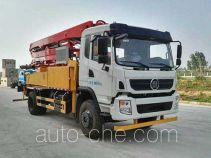 楚风牌HQG5196THBGD5型混凝土泵车
