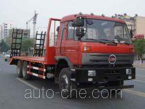 楚风牌HQG5250TPBGD4型平板运输车