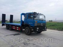 楚风牌HQG5250TPBGD5型平板运输车