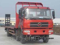 楚风牌HQG5253TPBGD4型平板运输车
