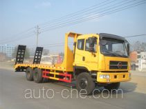 楚风牌HQG5255TPBGD4型平板运输车