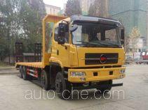 CHTC Chufeng HQG5316TPBGD4 flatbed truck