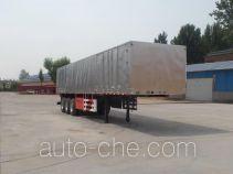 Yuqiantong HQJ9370XXY box body van trailer