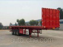 Yuqiantong HQJ9370ZZXP flatbed dump trailer