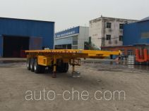 Yuqiantong HQJ9402ZZXPC flatbed dump trailer