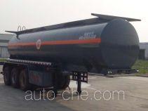 Hongruitong HRT9400GFW corrosive materials transport tank trailer