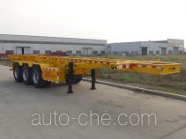 Hongruitong HRT9401TWY dangerous goods tank container skeletal trailer