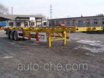 Sanshan container transport skeletal trailer