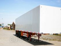 Sanshan HSB9400XXY box body van trailer