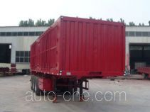 Sanshan HSB9403XXY box body van trailer