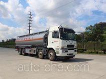 Gangyue HSD5310GRY flammable liquid tank truck