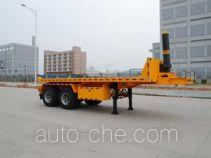 Gangyue HSD9340ZZXP flatbed dump trailer