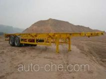 Gangyue HSD9350TJZG container transport trailer