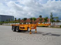 Gangyue HSD9353TJZG container transport trailer