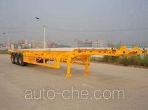 Gangyue HSD9370TJZG container transport trailer