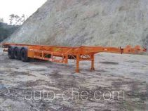 Gangyue HSD9373TJZG container transport trailer