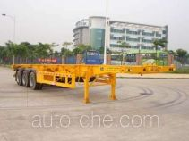 Gangyue HSD9380TJZG container transport trailer