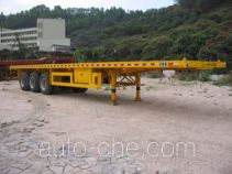 Gangyue HSD9380TJZP container carrier vehicle