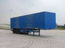 Gangyue HSD9391XXY box body van trailer