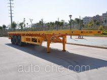 Gangyue HSD9400TPB flatbed trailer